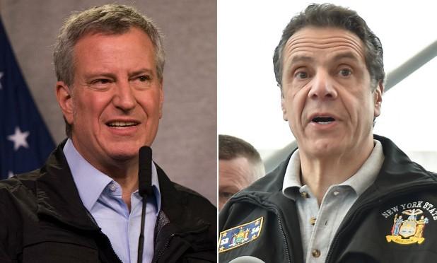 De Blasio slams Cuomo's MTA plan as threat to 'fiscal health'