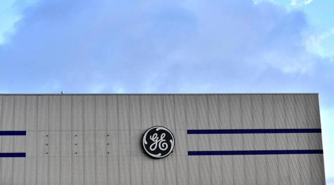 The fall of GE