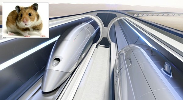 The Hyperloop: The future of travel or a fanciful space-age hamster tube?