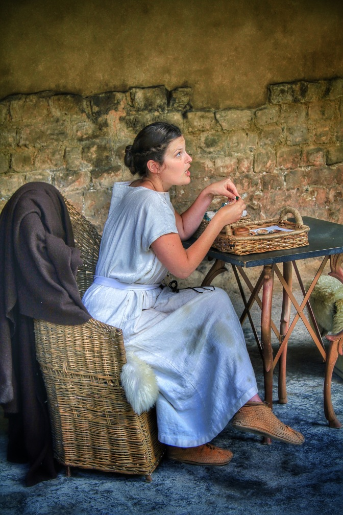 Conversations with a Roman girl