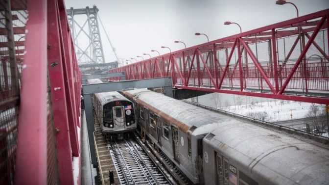 Transit delays: Snow impacts MTA subways, buses, LIRR, NJ Transit, Amtrak service