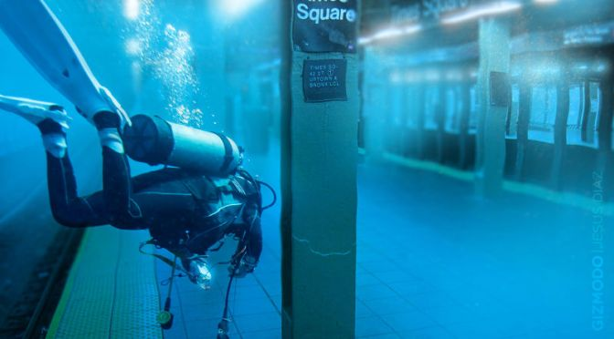 How the MTA battles to keep water from overwhelming the subways