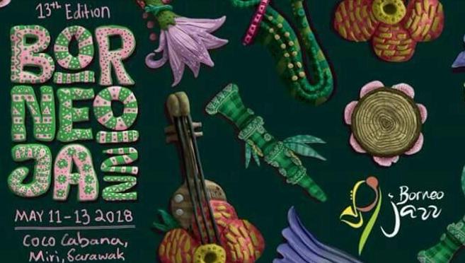 BORNEO JAZZ 11-13 MAY 2018