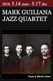 MARK GUILIANA QUARTET . COTTON CLUB JAPAN